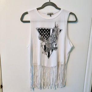 American fringe shirt